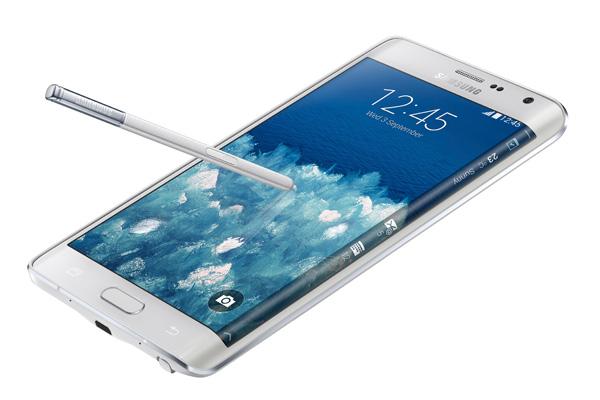 הקעור היפה. נוט 4 אדג'. מקור: Samsung