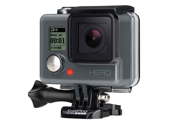 "Hero, הדגם הזול של GoPro. מקור: יח""צ"