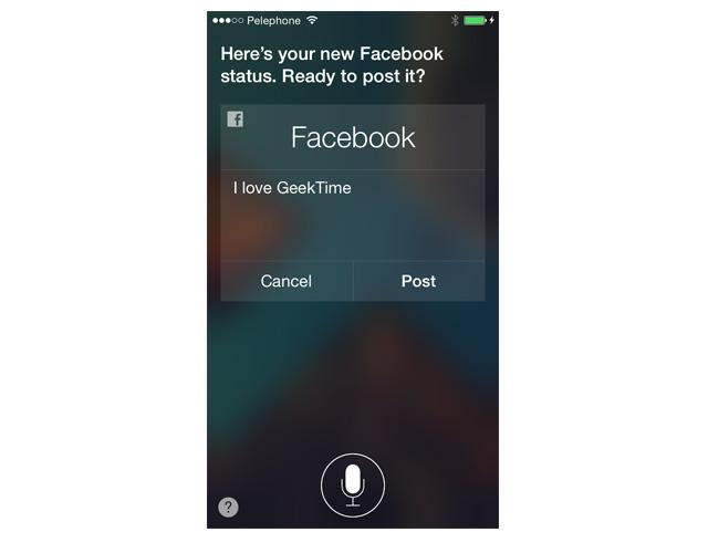 כל אחד יכול להעלות פוסטים בפייסבוק, בלי רשותכם ובלי לגעת באייפון שלכם. מקור גיקטיים