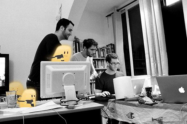 שלושת המייסדים וגיבורי Hopeless. מקור: Upopa
