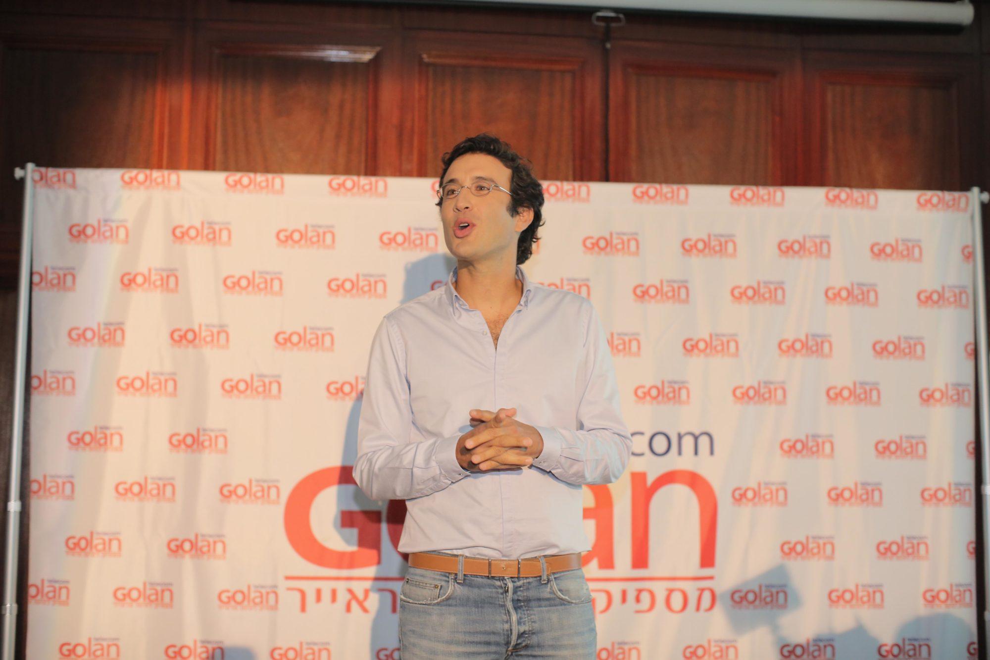 מיכאל גולן, תמונה: אסף רביבו