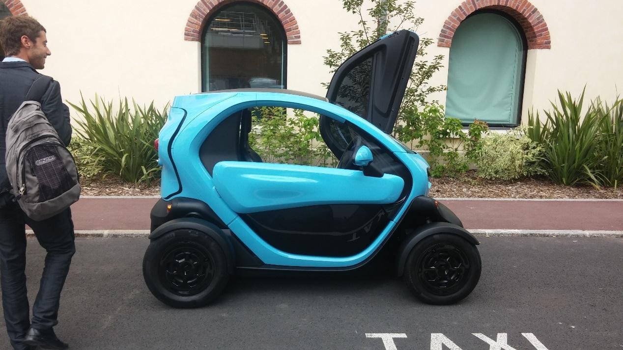 Renault Twizy צולם על ידי: הסוכנות לפיתוח פריז