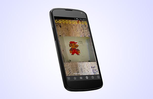 הפייבוריט שלנו: מריו (או שזה לואיג'י?). מקור צילום מסך + עיבוד תמונה