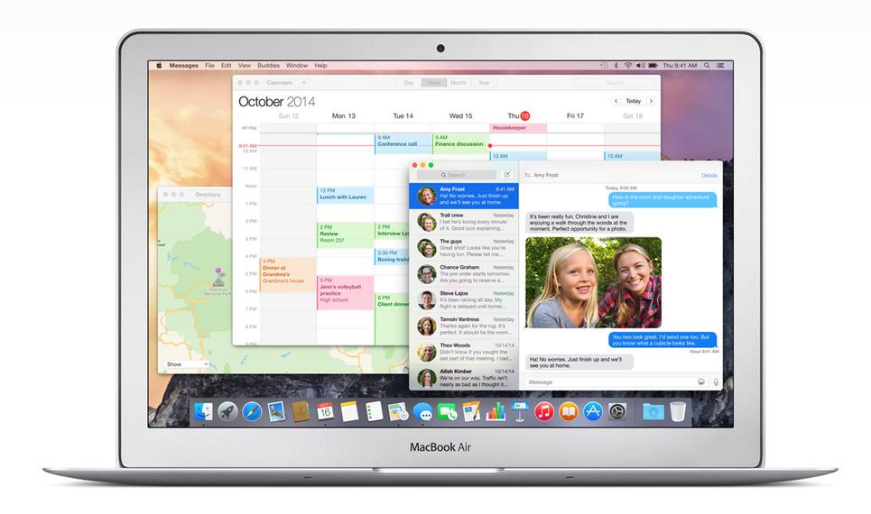 מערכת ההפעלה החדשה של אפל. מקור: Apple