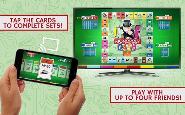 ממשחקי לוח למשחקי LCD? מקור: Monopoly Dash