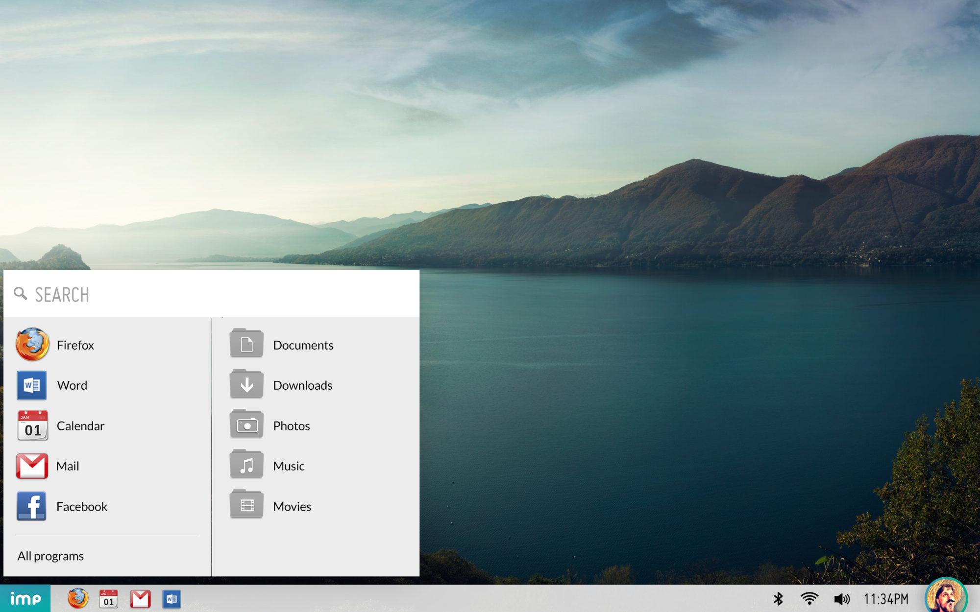 """ממשק ה-UI של המחשב. מקור: יח""""צ"""