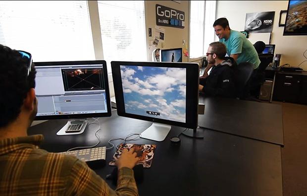משרדי GoPro. מקור: צילום מסך מתוך סרטון וידאו