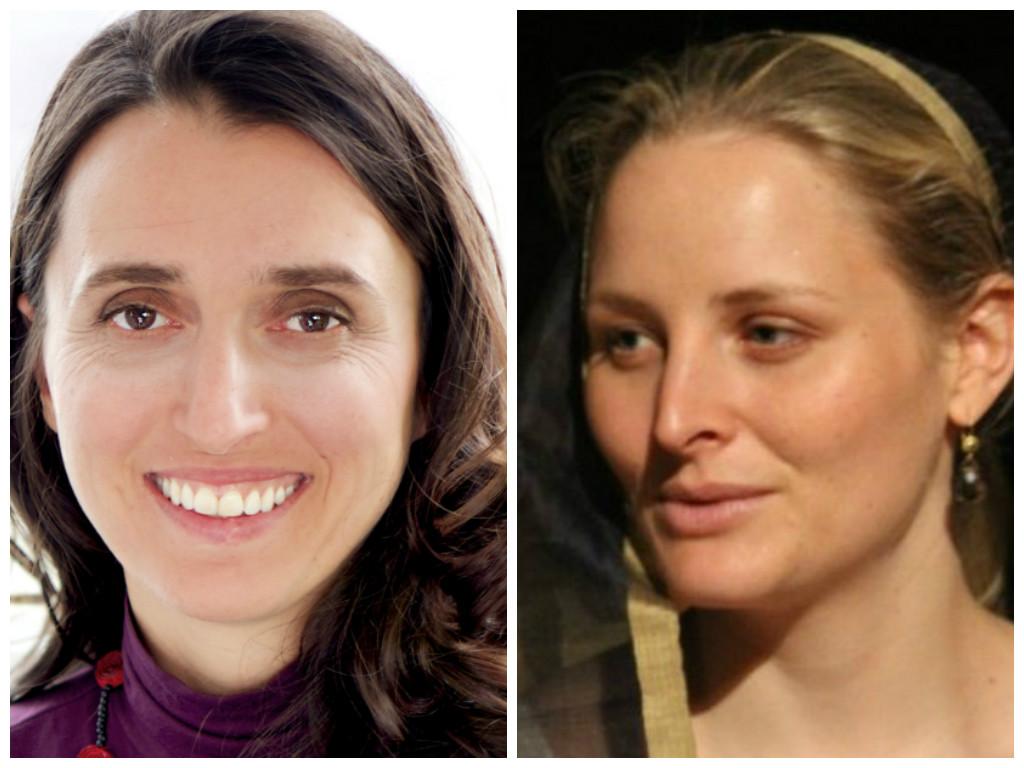 קתרין מימין, מליסה משמאל