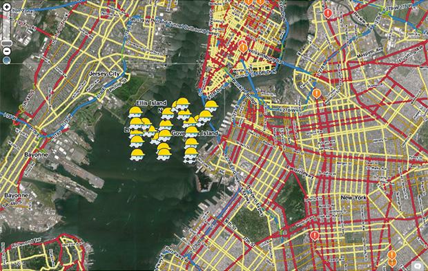 ניו יורק בידינו. מקור: Waze Blog