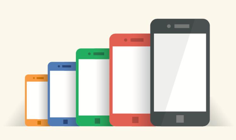 smartphone size shutterstock