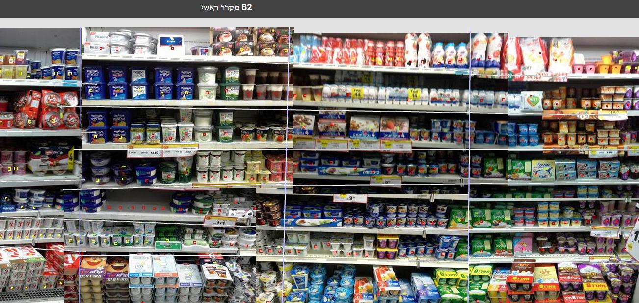 """זיהוי מוצרים במקרר על ידי האלגוריתם של Trax. מקור: יח""""צ"""