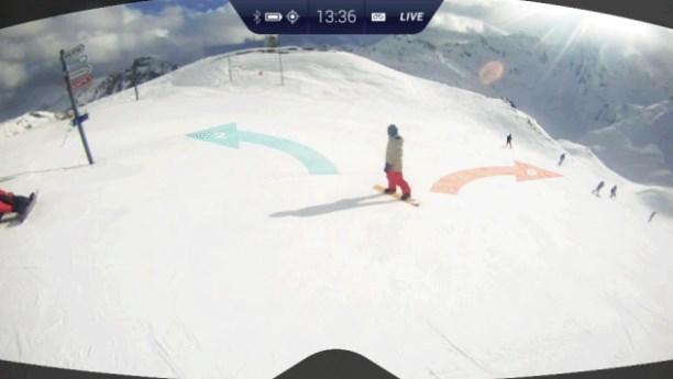 """""""מחשב מסלול סקי מחדש"""". מקור: RideOn"""
