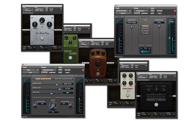 כמה מהאפקטים של Pro Tools. מקור: Avid