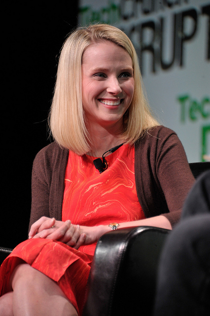 תמונה: marissa mayer, flickr, cc-by, TechCrunch