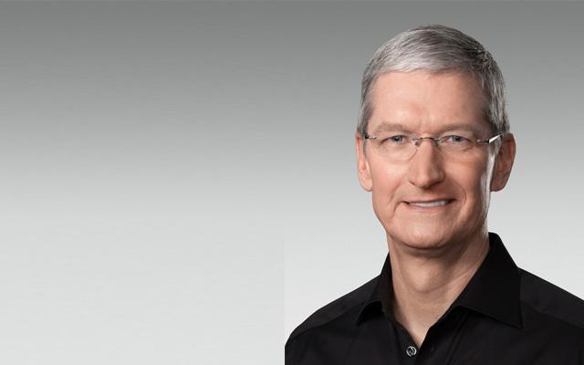 """מנכ""""ל אפל, טים קוק. מקור: Apple"""