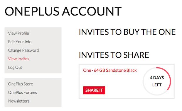 זה לא נגמר בינינו - מערכת ההזמנות של OnePlus. צילום מסך.