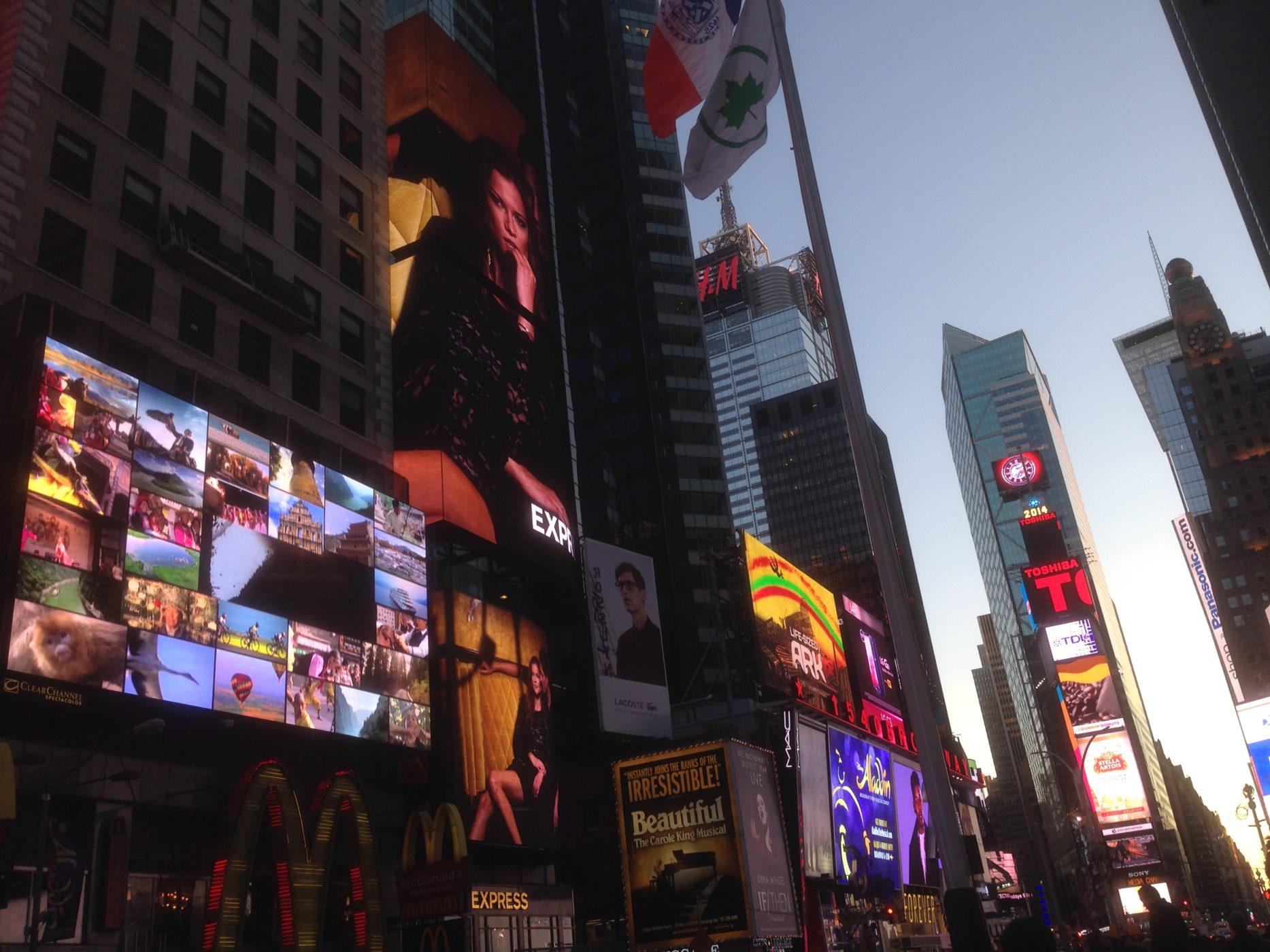 כיכר טיימס סקוור, ניו יורק. צילום: רועי לטקה