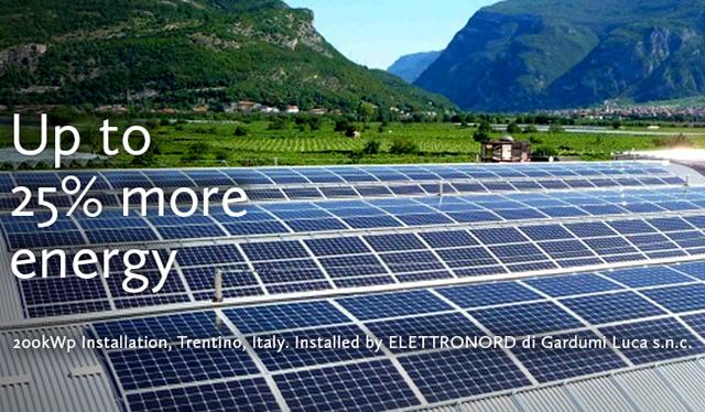 מתקן של SolarEdge שהוקם באיטליה. מקור: SolarEdge