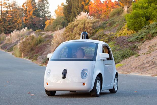 המכונית האוטונומית של גוגל. מקור: Google