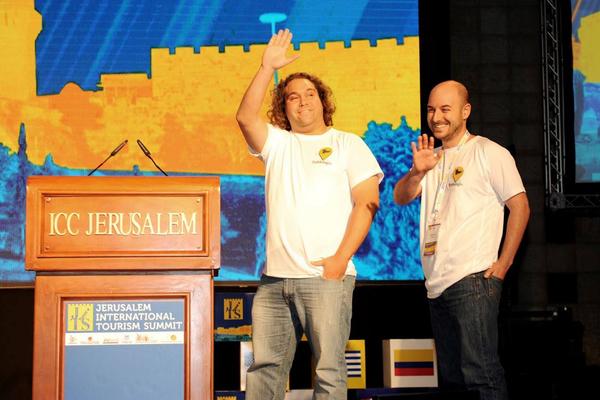 אייל דוד (ימין) ורון רוזן, מקור: Trekking-in