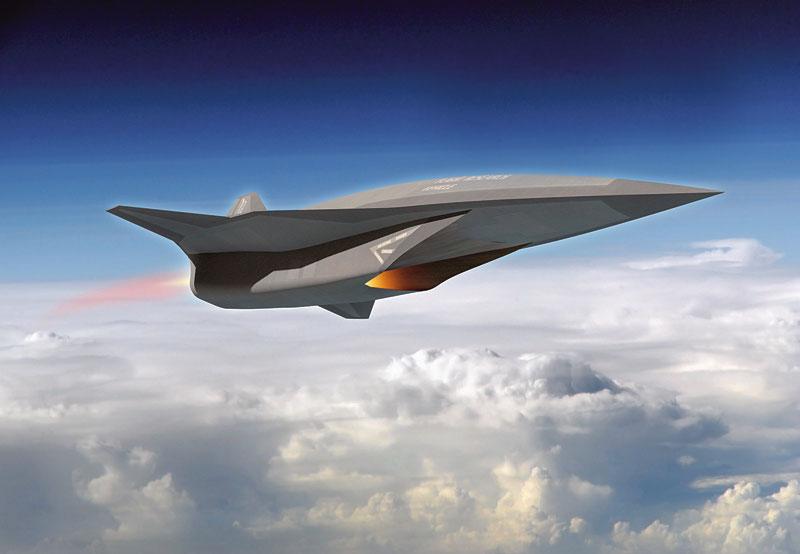 ה-SR72, כלי טיס על קולי בלתי מאוייש. תמונה: מדע פופולארי