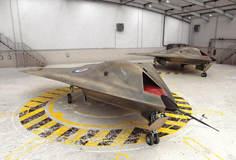 ה-Taranis הבריטי של חברת BAE Systems כבר נמצא בפעילות מבצעית. תמונה: מדע פופולארי