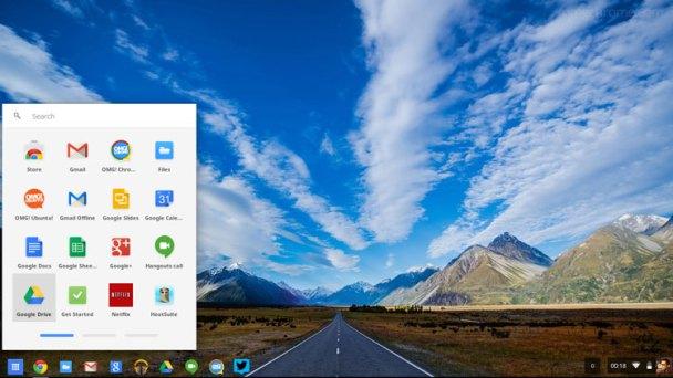 מערכת הפעלה פשוטה ונקייה. Chrome OS
