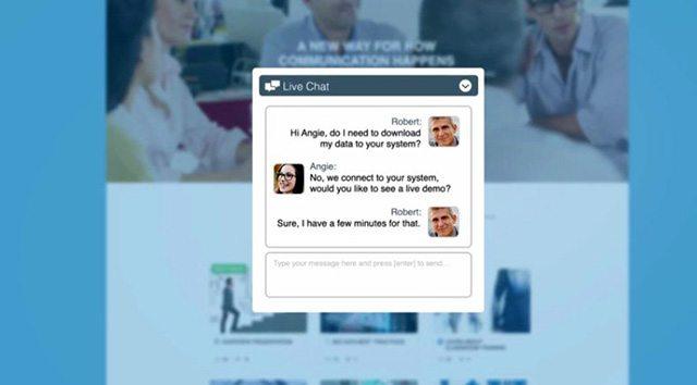 אינטראקציה בזמן שהלקוחות הפוטנציאליים מעיינים בהצעה שלכם. מקור: צילום מסך