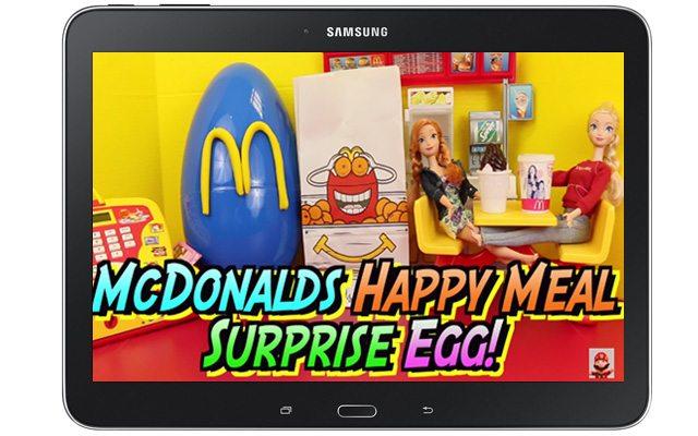 סקירה תמימה? פרסומת שמכוונת לילדים? אחד הסרטונים שהופיעו באפליקציה. מקור: צילום מסך, עיבוד תמונה