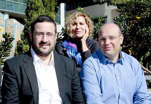 """מימין לשמאל: אריאל פינקלשטיין, זיקה אב-צוק ומשה פרידמן. מקור: יח""""צ"""