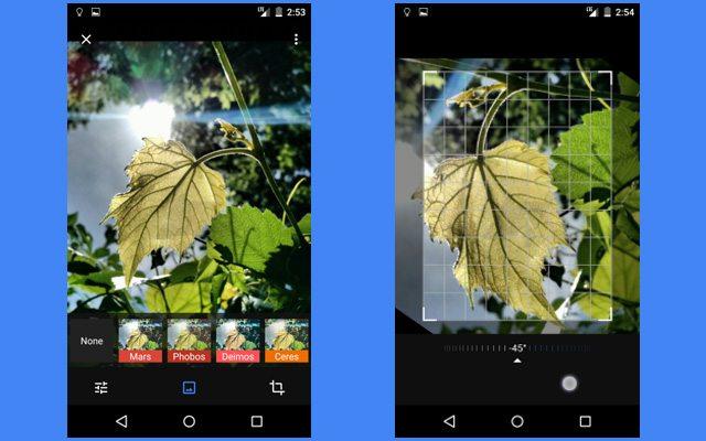 עריכת תמונות. מקור: Android Police