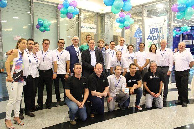 בוגרי המחזור הראשון של תוכנית ההאצה של IBM בישראל