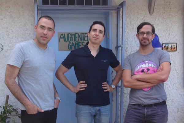 שלושת המייסדים - מימין שחר סילברט, דרור רג׳ואן ואמיר אליאסי