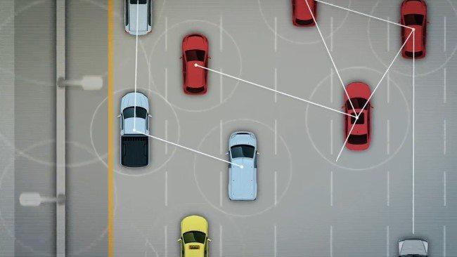מכוניות מחוברות בעידן ה-IoT. מקור: צילום מסך מתוך סרטון וידאו