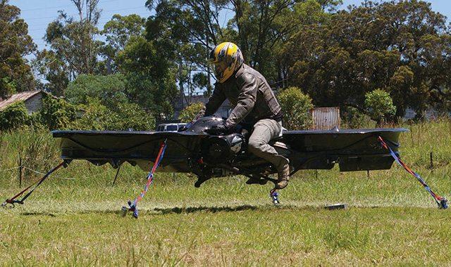 הרחפנוע בפעולה. מקור: Malloy Aeronautics