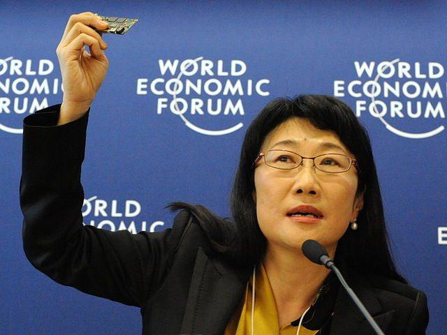 """צ'ר וואנג, מנכ""""לית HTC. מקור: cc-by-BrockF5, WikiMedia Commons"""