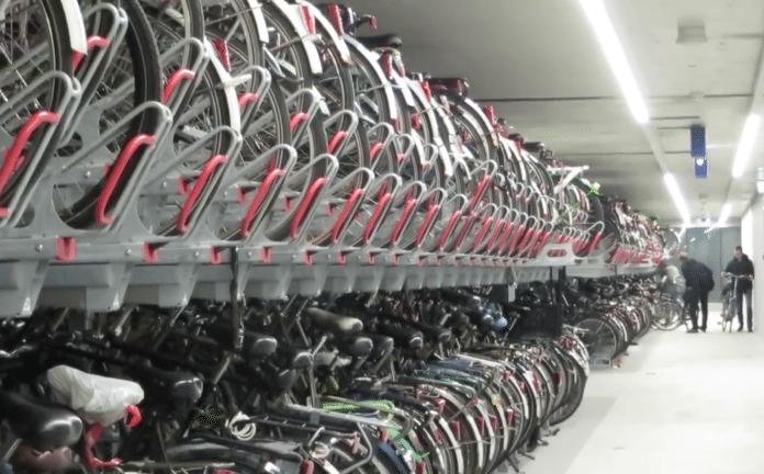 bike parking station
