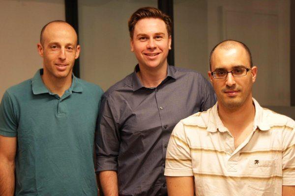 משמאל לימין: זיו אילון, דיוויד סטיף וניר צחר From Left to right (Ziv