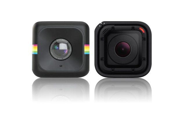 מימין: ה-Session של GoPro, משמאל: ה-Cube של Polaroid. עיבוד תמונה: גיקטיים