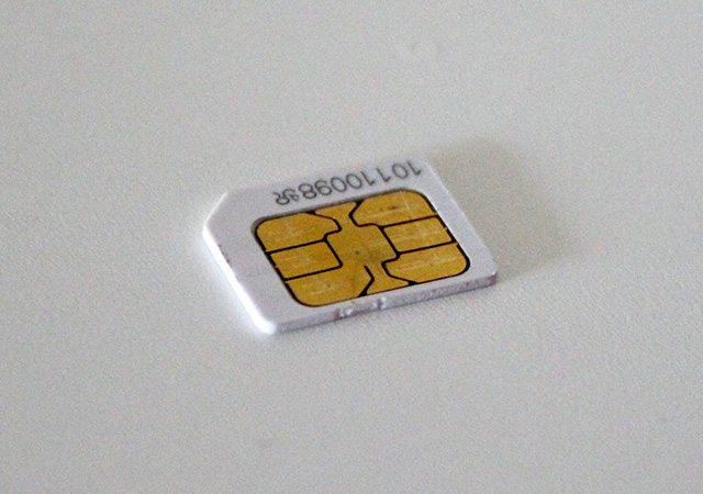 בקרוב במוזיאונים? כרטיס SIM כיום. צילום: גיקטיים