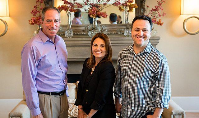 שלושת מייסדי התוכנית: בן-ארצי, גלילי ופטרושקה. צילום: Upwest Labs