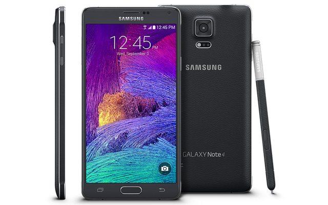 Note 4. מקור: Samsung