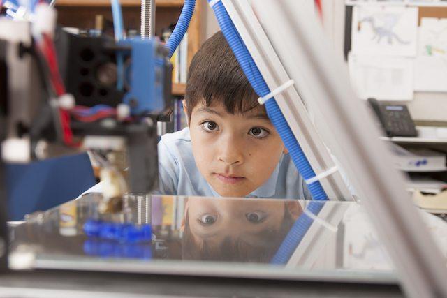 shutterstock 3d printer