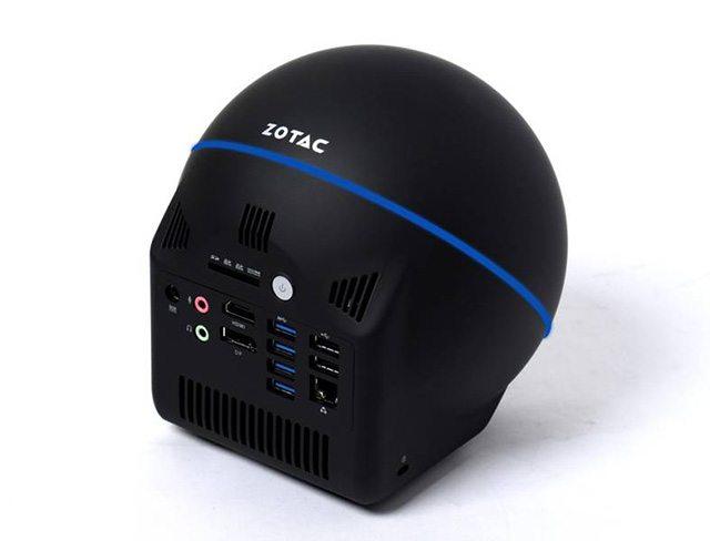 מחשב ה-Zbox Sphere. מקור: Zotac
