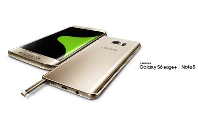 +Galaxy S6 edge, Galaxy Note 5, מקור: Samsung