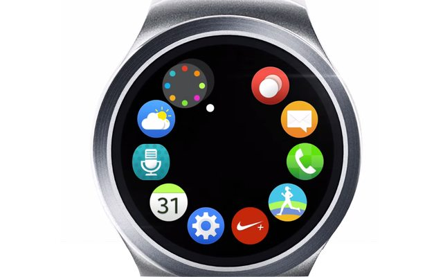 מקור: Samsung Gear S2, צילום מסך
