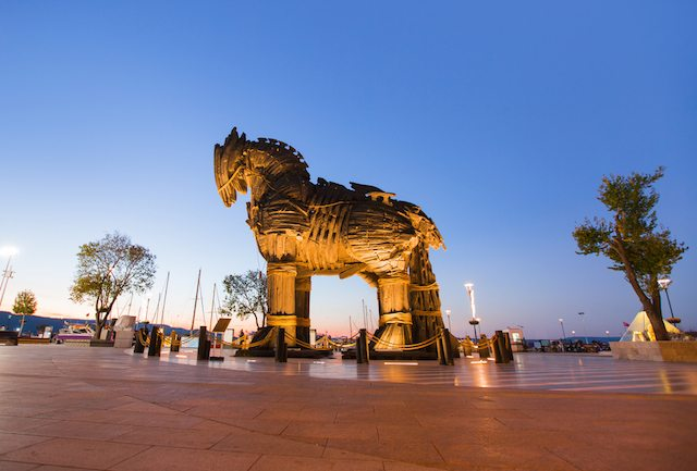 shutterstock trojan horse