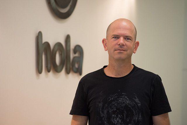 עופר וילנסקי, מייסד-שותף של Hola. צילום: נדב כהן יונתן