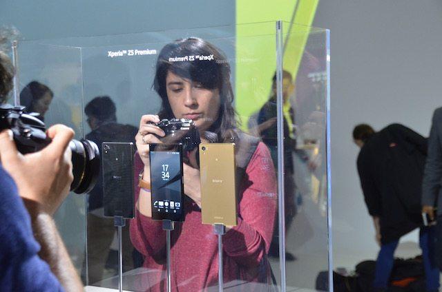הסמארטפון הראשון עם מסך באיכות 4K. צילום: גיקטיים, ברלין