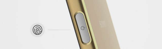 חיישן טביעת האצבע ממוקם בכפתור ההדלקה. יש הגיוני מזה?